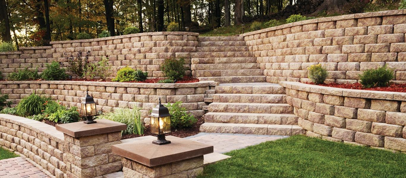 Felice Landscaping Retaining Walls